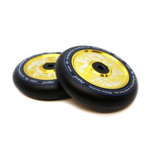 Колеса North Scooters Vacant Wheels-110 X 24mm Black-Gold